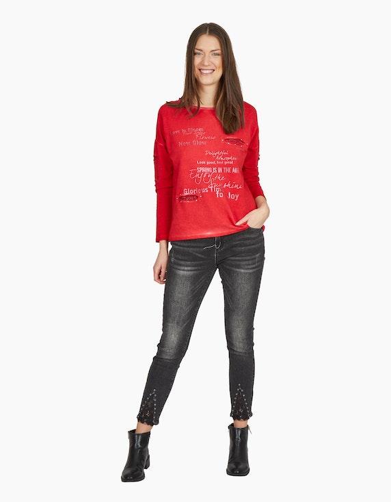 MY OWN Sweatshirt mit Cold-Dye-Effekt   ADLER Mode Onlineshop