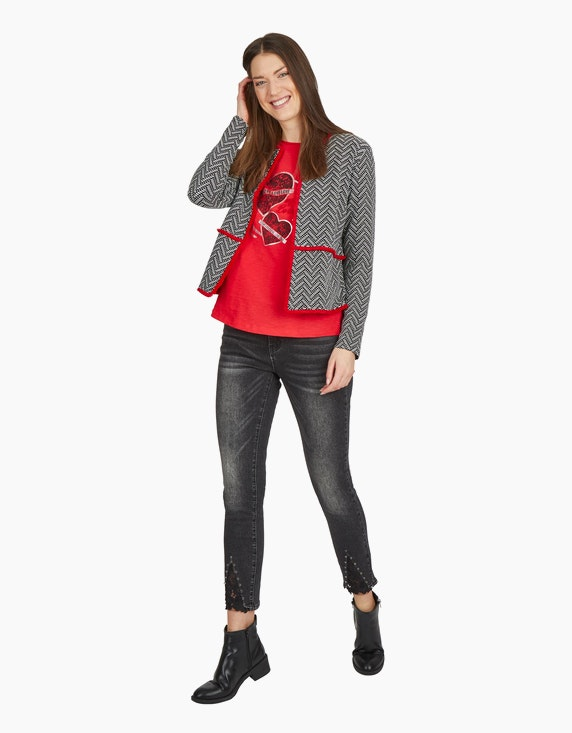 MY OWN Cardigan mit Jacquard-Muster | ADLER Mode Onlineshop