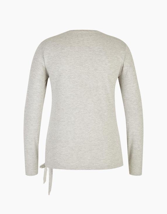 MY OWN Shirt in Melange-Optik mit Herz | ADLER Mode Onlineshop