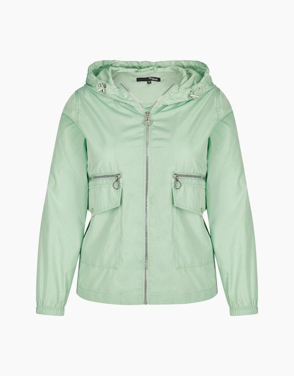 MY OWN leichte Jacke mit Kapuze in Lindgrün | ADLER Mode Onlineshop