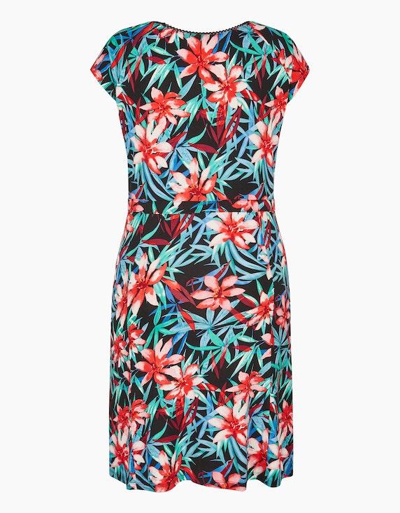 MY OWN Jersey-Kleid mit großem Blumenmuster | ADLER Mode Onlineshop