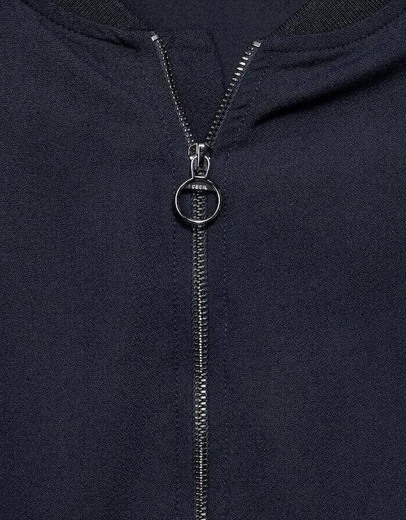 CECIL Blusenshirt mit Zipper | ADLER Mode Onlineshop