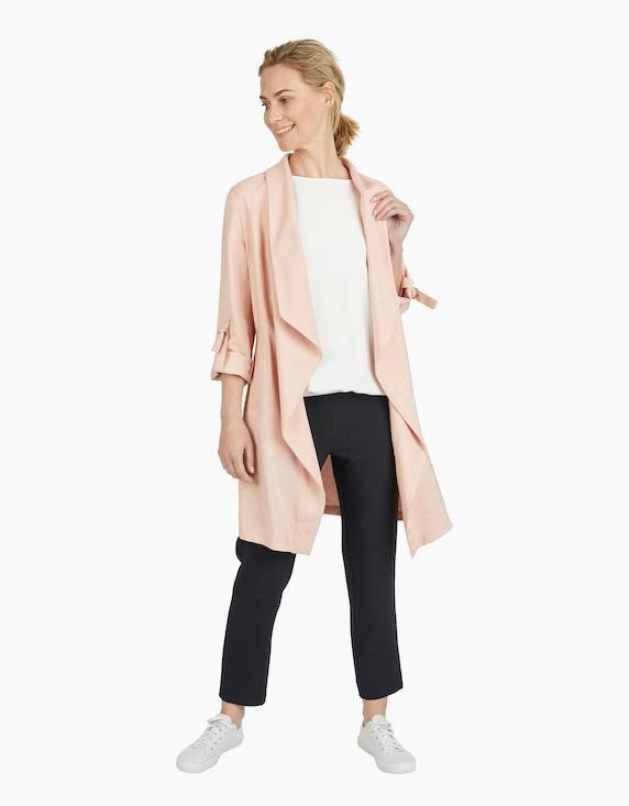 Viventy Longjacke mit Krempelärmeln in Rosé | ADLER Mode Onlineshop
