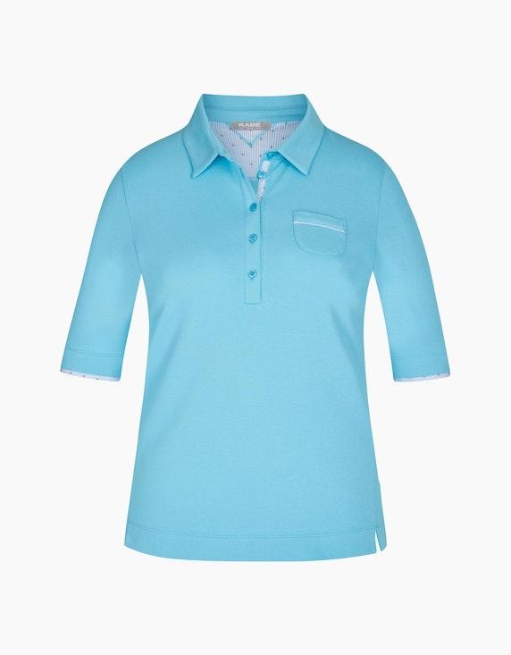 Rabe Poloshirt mit halblangen Ärmeln   ADLER Mode Onlineshop
