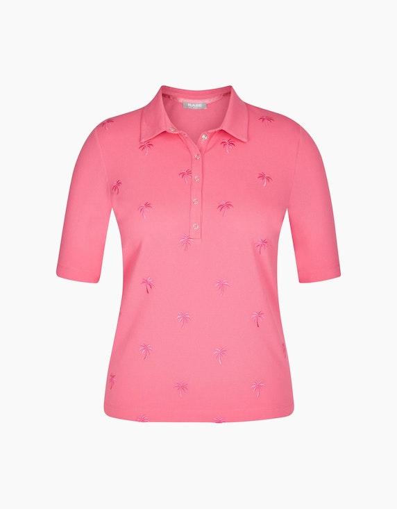 Rabe Poloshirt mit Stickereien   ADLER Mode Onlineshop
