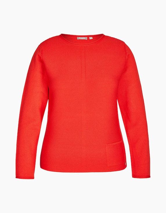 Rabe Pullover mit Ripp-Struktur | ADLER Mode Onlineshop