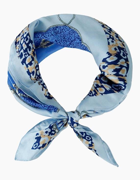 Adler Collection Elegantes Tuch mit floralem Druck   ADLER Mode Onlineshop