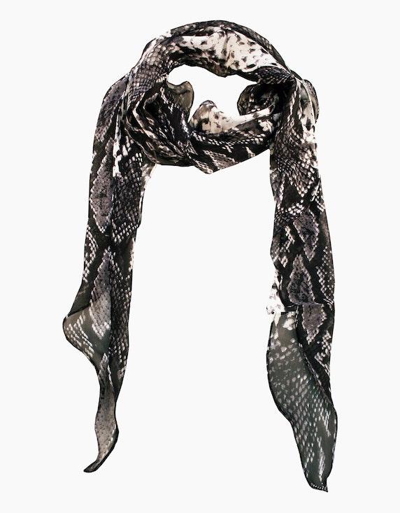 Adler Collection Schal mit Schlangen-Druck   ADLER Mode Onlineshop