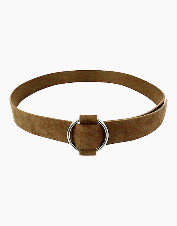 Adler Collection Gürtel in Bindeoptik mit runder Schnalle | ADLER Mode Onlineshop