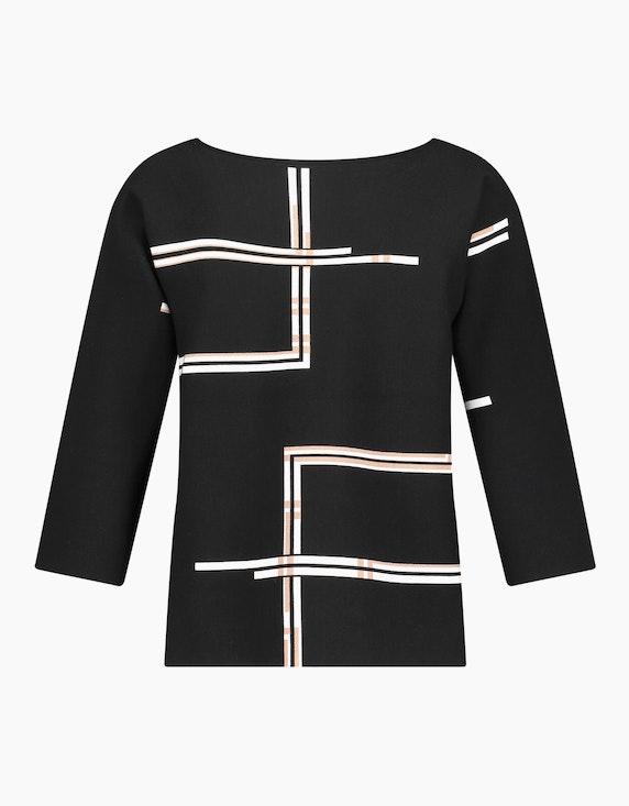 Gerry Weber Collection Pullover mit grafischem Muster | ADLER Mode Onlineshop