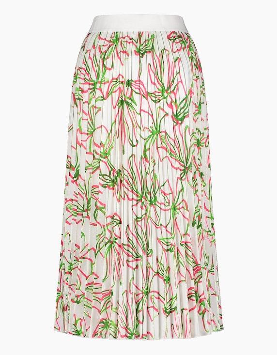 Gerry Weber Collection Plissérock mit floralem Muster   ADLER Mode Onlineshop