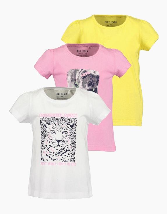 Blue Seven Mini Girls T-Shirt 3-er Pack | ADLER Mode Onlineshop