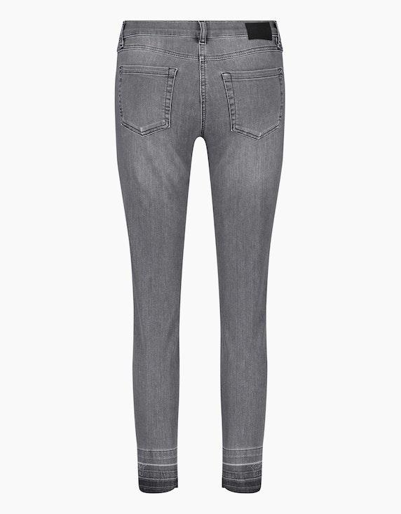 "Gerry Weber Edition Jeans mit Used-Saum ""Best4me"" Organic Cotton | ADLER Mode Onlineshop"