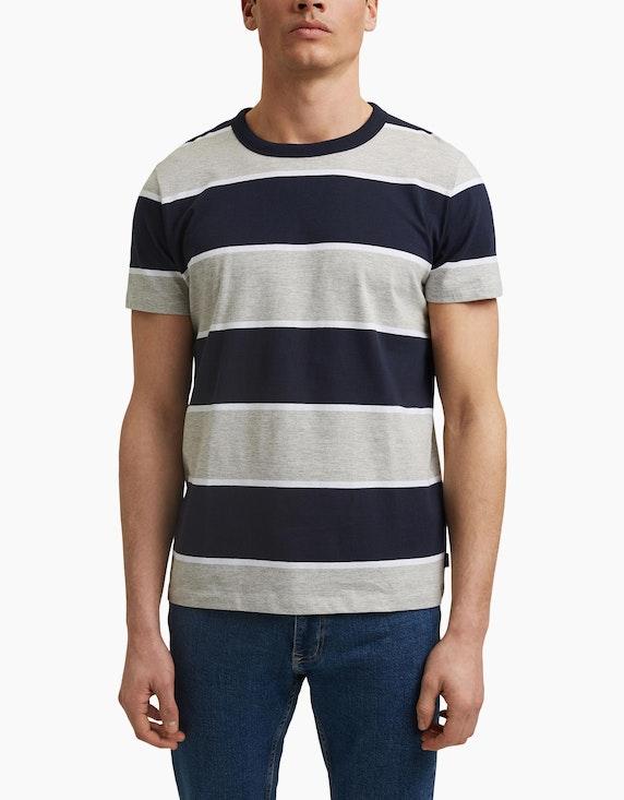 Esprit EDC T-Shirt mit Blockstreifen | ADLER Mode Onlineshop