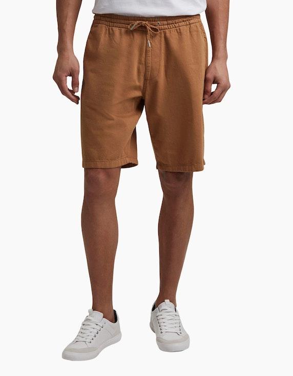 Esprit Baumwoll-Shorts mit Gummibund   ADLER Mode Onlineshop