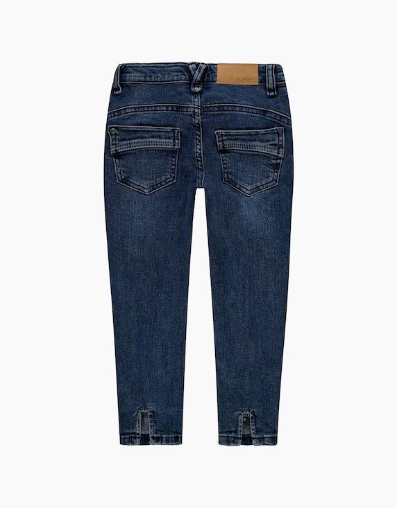 Esprit Mini Girls Jeans mit Schlitzen und Verstellbund | ADLER Mode Onlineshop