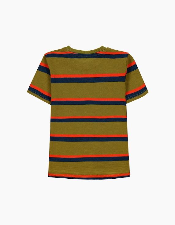 Esprit Mini Boys Streifen-T-Shirt aus reiner Baumwolle | ADLER Mode Onlineshop