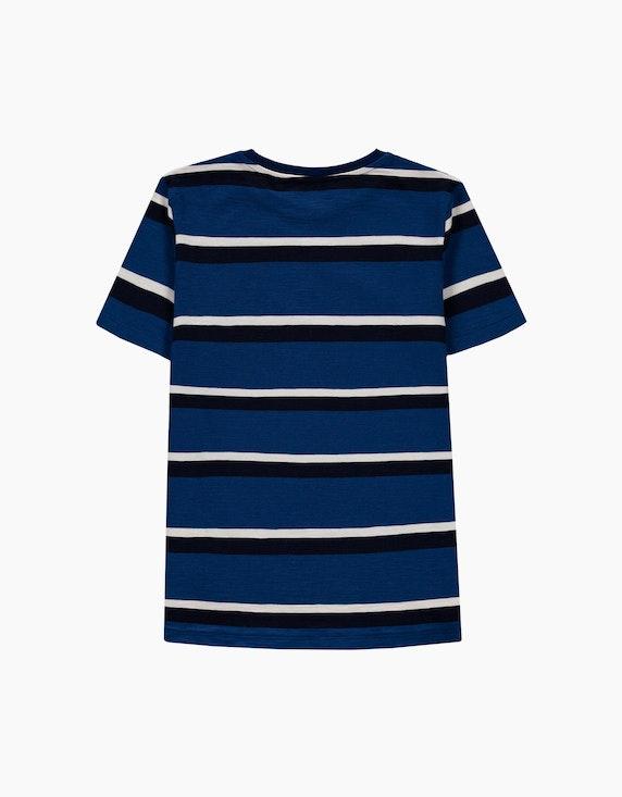 Esprit Boys Streifen-T-Shirt aus reiner Baumwolle | ADLER Mode Onlineshop