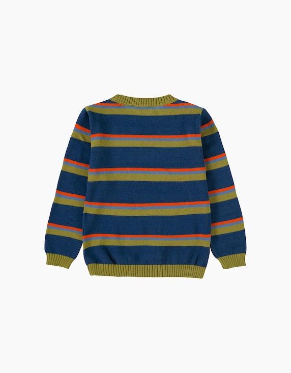 Esprit Mini Boys Pullover mit Multicolor-Streifen | ADLER Mode Onlineshop