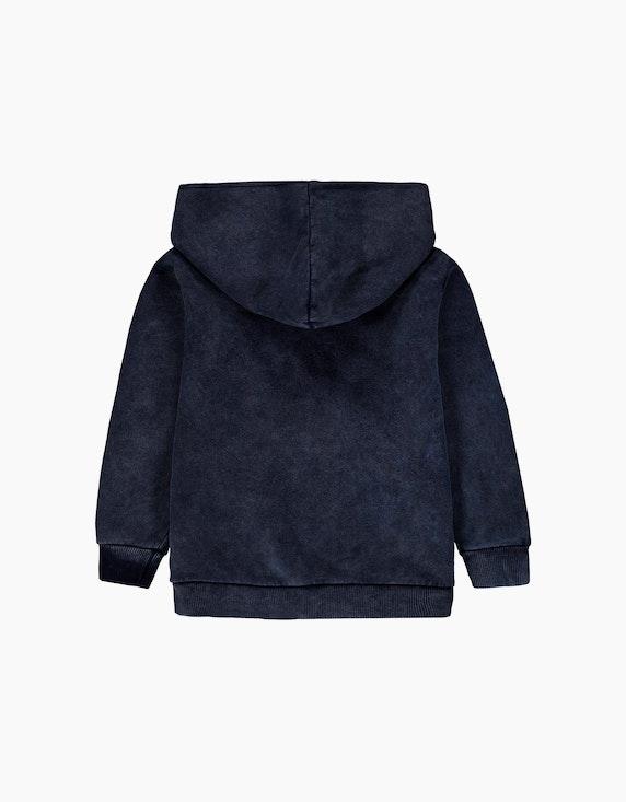 Esprit Mini Boys Zipper-Hoodie im Washed-Look   ADLER Mode Onlineshop
