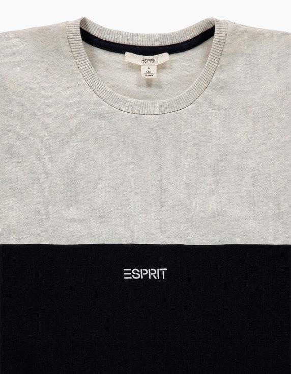 Esprit Girls Colorblock-Sweatshirt aus reiner Baumwolle | ADLER Mode Onlineshop