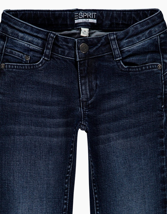 Esprit Girls Stretch-Jeans mit Zippern am Saum | ADLER Mode Onlineshop