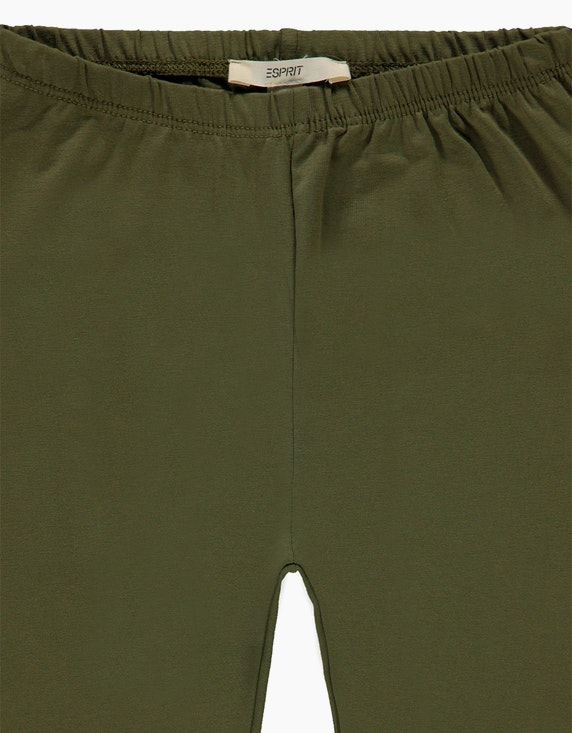 Esprit Girls Basic-Leggings aus Baumwoll-Stretch | ADLER Mode Onlineshop
