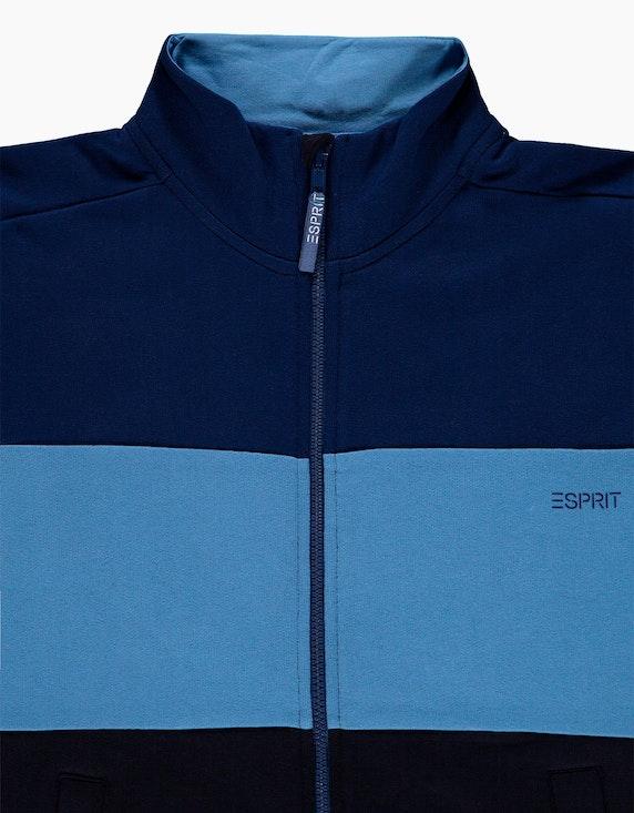 Esprit Boys Sweatjacke mit Colorblock aus Baumwolle | ADLER Mode Onlineshop