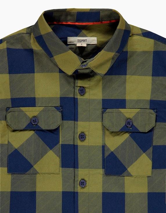 Esprit Boys Karo-Hemd mit Brusttasche | ADLER Mode Onlineshop