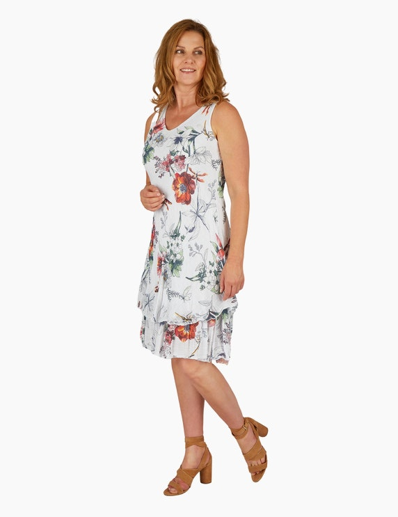 Made in Italy Sommerkleid mit floralem Druck   ADLER Mode Onlineshop
