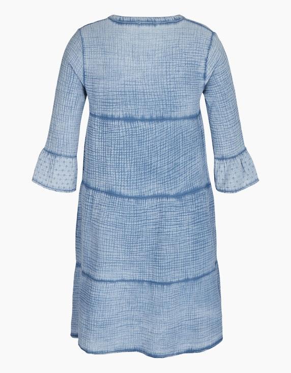 Made in Italy Musselin-Kleid aus Baumwolle   ADLER Mode Onlineshop