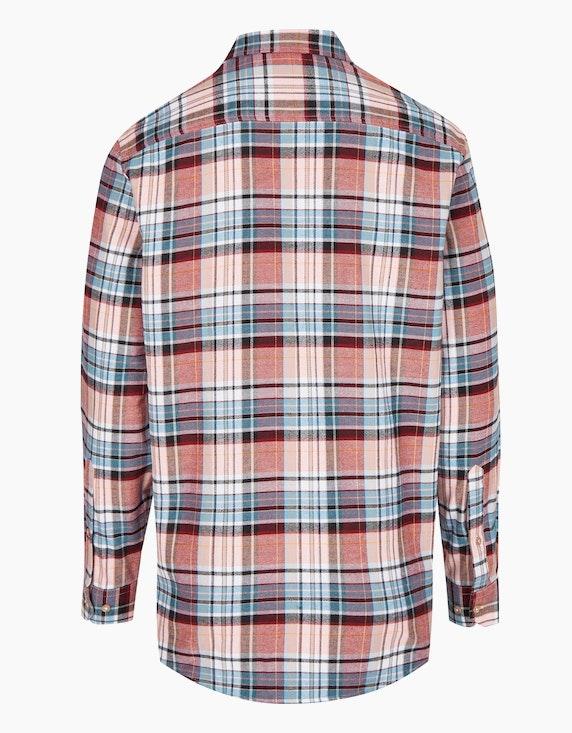 Bexleys man Flanellhemd kariert mit zwei Patten-Brusttaschen, REGULAR FIT | ADLER Mode Onlineshop