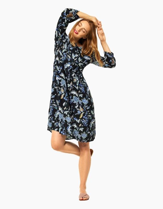 Street One Kleid mit floralem Print   ADLER Mode Onlineshop