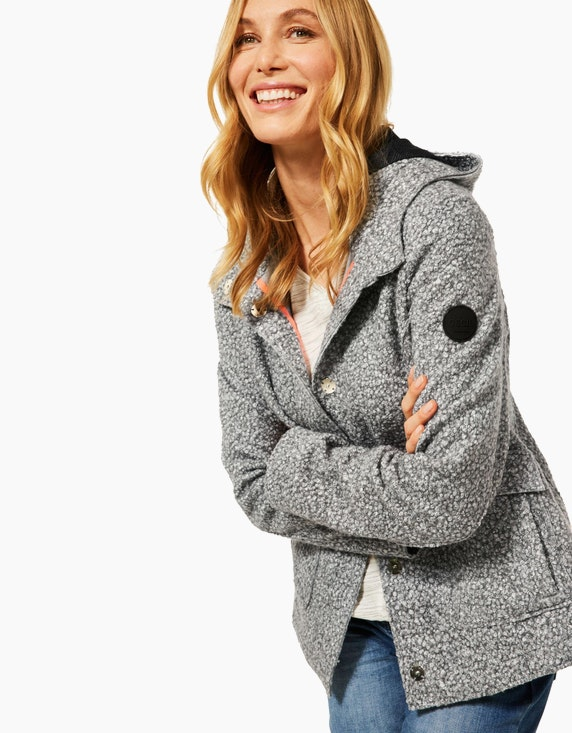 CECIL Jacke in Fake Wolle | ADLER Mode Onlineshop