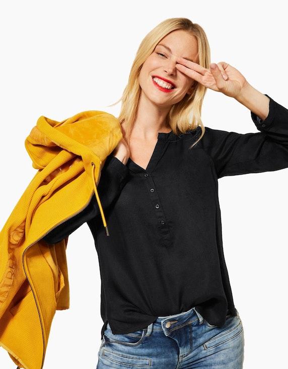 Street One Bluse mit halber Knopfleiste   ADLER Mode Onlineshop
