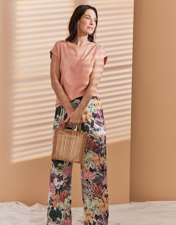 Bexleys woman Palazzo-Hose mit Dschungel-Druck | ADLER Mode Onlineshop