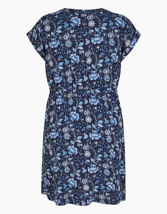 Bexleys woman Viskose-Kleid mit Druck und elastischer Taille | ADLER Mode Onlineshop