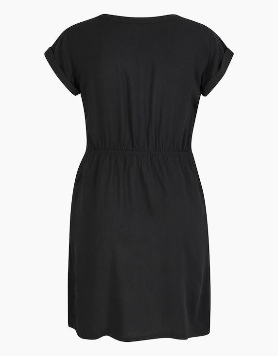 Bexleys woman Viskose-Kleid mit elastischer Taille | ADLER Mode Onlineshop