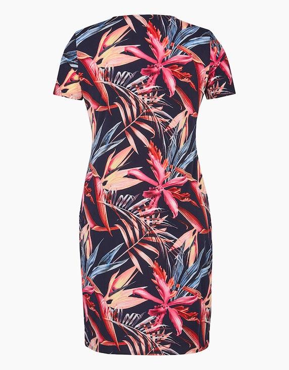Bexleys woman Floral bedrucktes Jerseykleid | ADLER Mode Onlineshop