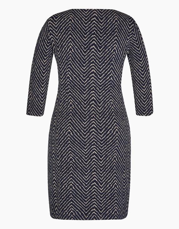 Bexleys woman Jerseykleid mit Zick-Zack-Muster | ADLER Mode Onlineshop