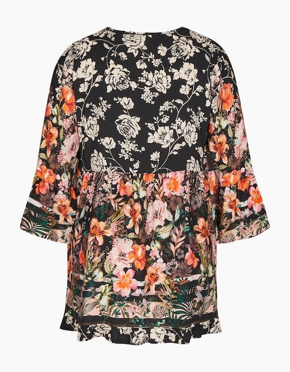 Made in Italy Tunika mit Blumenmuster   ADLER Mode Onlineshop