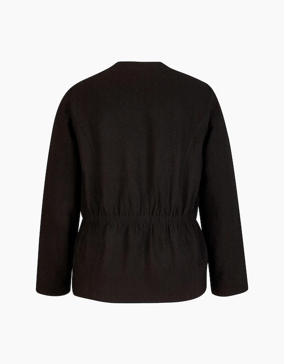 KS. selection Crinkle-Blazer mit Strassbesatz | ADLER Mode Onlineshop
