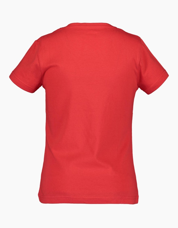 Blue Seven Girls-T-Shirt mit Motto-Druck   ADLER Mode Onlineshop