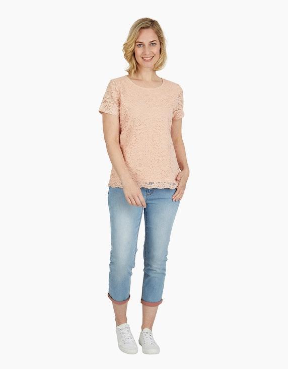 Steilmann Woman Shirt mit Spitze | ADLER Mode Onlineshop