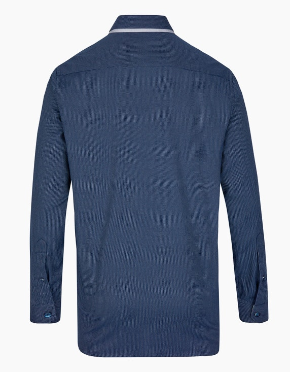 Bernd Berger Dresshemd mit Dobby-Muster und Doppelkragen, REGULAR FIT   ADLER Mode Onlineshop