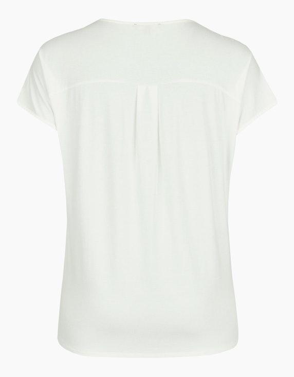 Thea Shirt mit gelegten Falten am Ausschnitt   ADLER Mode Onlineshop