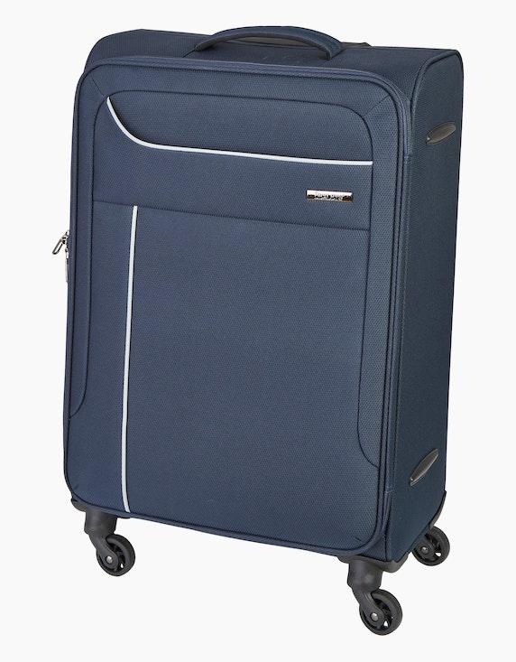 Bexleys Edition Schwarz Koffer mit 4 Rollen - 69 cm | ADLER Mode Onlineshop