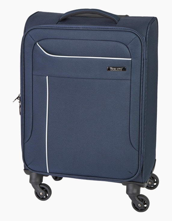 Bexleys Edition Schwarz Koffer mit 4 Rollen - 59 cm | ADLER Mode Onlineshop