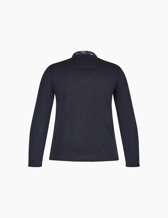 Malva Pullover mit eingesetztem Blusenkragen | ADLER Mode Onlineshop