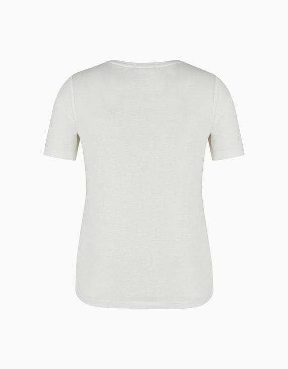 Bexleys woman Flammgarn-Shirt mit Strassmotiv | ADLER Mode Onlineshop